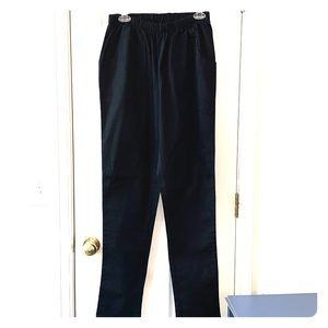 Roamans TALL Elastic Waist Straight Leg Pants